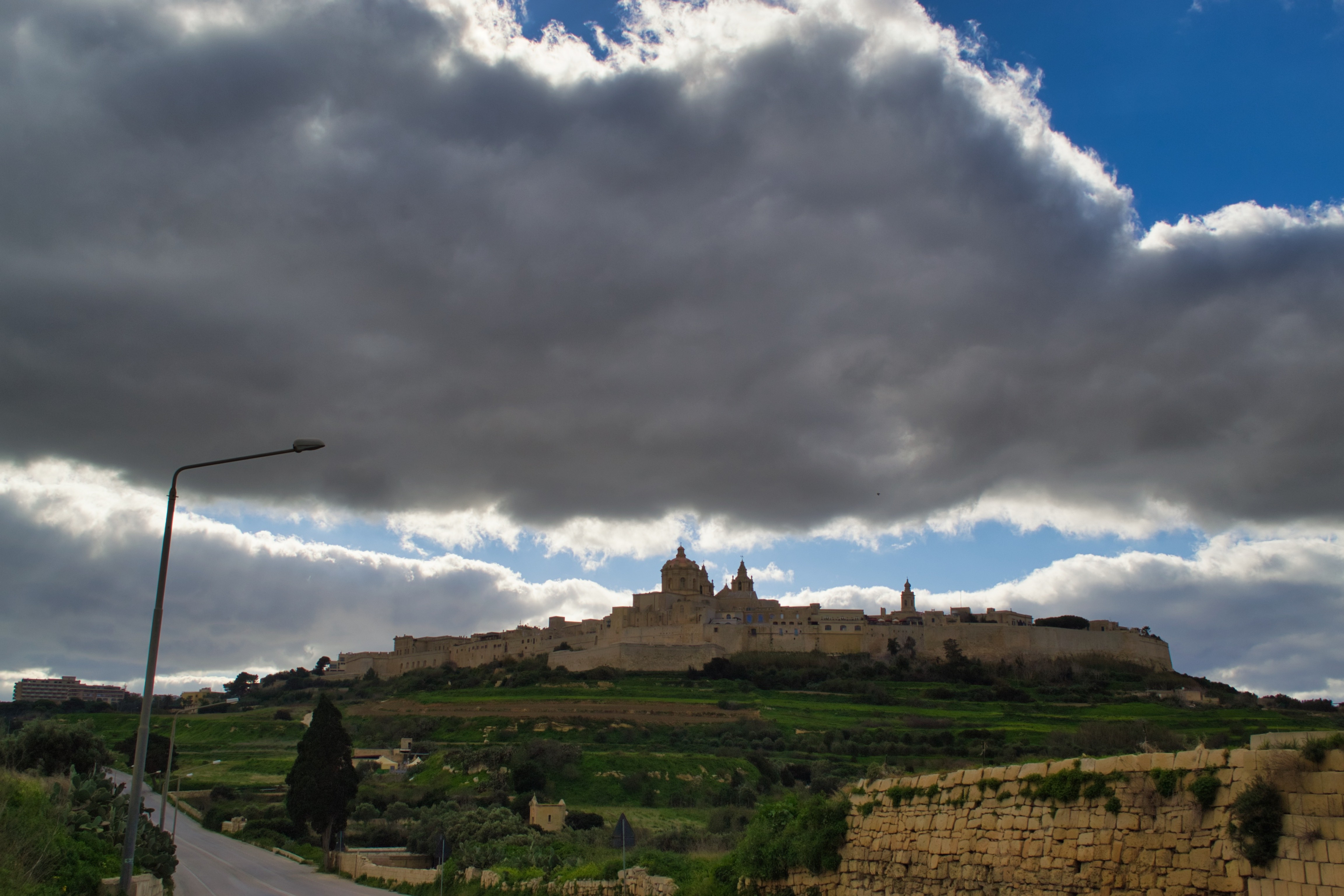 Clouds over Mdina